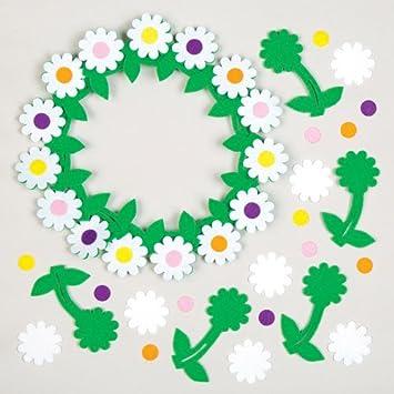 Selbstklebende Filz Blumen Zum Basteln Fur Kinder Ideal Fur Fruhling