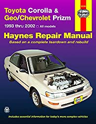 Image of the product Toyota Corolla & that is listed on the catalogue brand of Haynes Manuals.