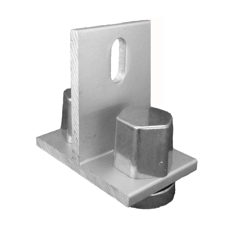 Sunmodo K10154-001 EZ Roof Mount Kit with T Foot, Metal (Pack of 10)