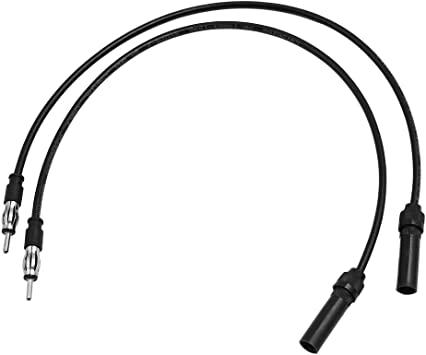 uxcell 10ft Car Male to Female Radio AM//FM Antenna Adapter Extension Cable DC 12V