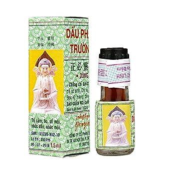 Amazon com: 1 5ml Famous Dau Phat Linh Truong Son Pain Relief