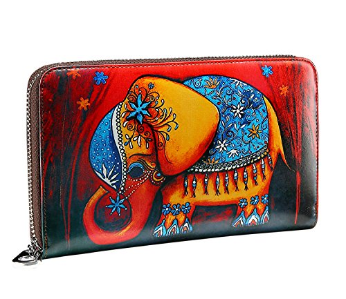 jslove-womens-leather-cute-owl-print-zipper-around-wallet-collection-elephant-r