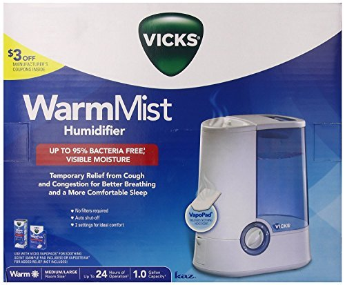 VICKS V750 Warm Mist Humidifier by Vicks