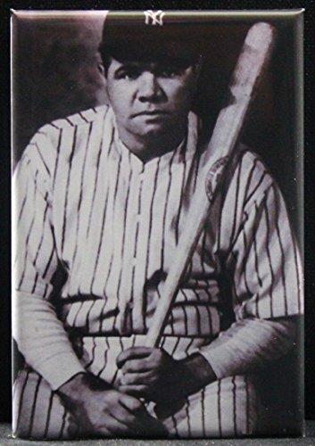 Babe Ruth B & W Photo Refrigerator ()