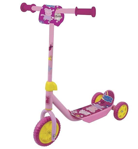 Peppa Pig - Patinete de tres ruedas con almohadilla ...