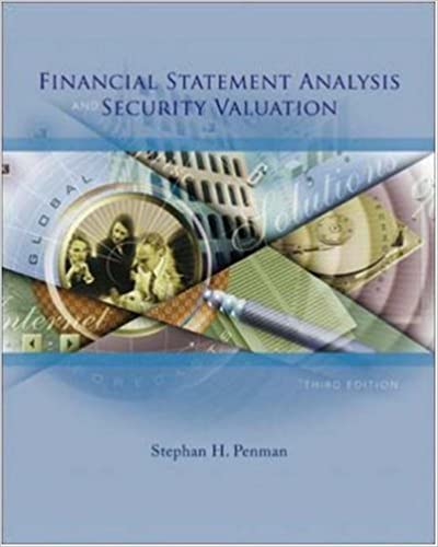 AmazonCom Financial Statement Analysis And Security Valuation