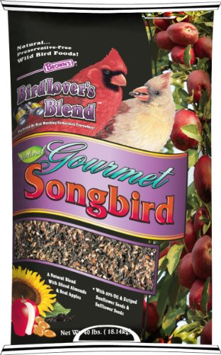 F.M.Brown's 41100 Bird Lover's Blend Gourmet Songbird with Almonds and Apples, 40-Pound by F.M. Brown's