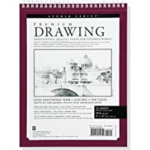 "Premium Drawing Pad  9"" X 12"" (Sketchbook, Sketch book)"