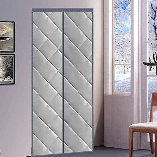 HMHD Cortina Termica Aislante Frio, Cortina de Ventana Cortinas Aislantes Termicas Aislamiento Acústico Anti-Frio, para Pasillos/Puertas -Gris-120x240CM: Amazon.es: Hogar