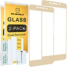 [2-PACK]-Mr Shield For LeEco Le Pro 3 / Le Pro3 [Tempered Glass] [Full Cover][Golden] Screen Protector with Lifetime Replacement Warranty