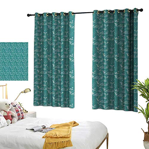 Bedroom Curtains W72