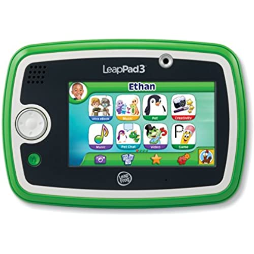 LeapFrog LeapPad3 Kids' Learning Tablet, Green Coupons