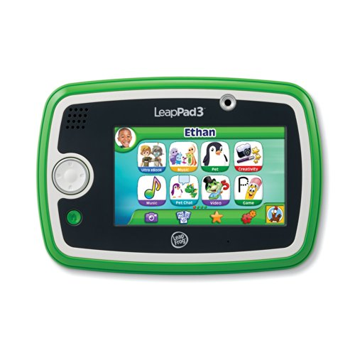 LeapFrog LeapPad3 Kids' Learning Tablet, Green by LeapFrog