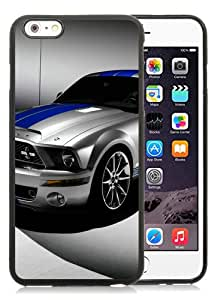 iPhone 6S Plus TPU Case ,Ford Shelby Mustang GT500 black iPhone 6S Plus Cover Fashionable And Unique Custom Designed Phone Case