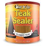 Star brite Teak Sealer - No Drip, Splatter-Free Formula - One Coat Coverage for All Fine Woods