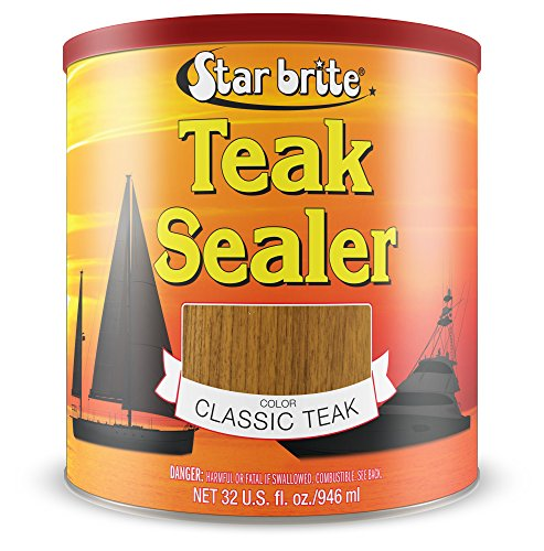 Star brite Tropical Teak Oil Sealer - No Drip, Splatter-Free Formula -