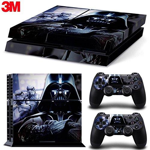ZOOMHITSKINS Ps4 Playstation 4 Console Skin Decal Sticker Star Wars Darth Vader Battlefront + 2 Controller Skins Set