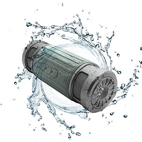 Portable Waterproof Bluetooth Microphone Flashlight product image