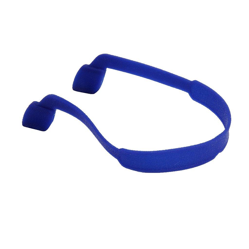 Sharplace Catena in Rilievo Cinghia per Occhiali da Sole Elastici in Silicone per Bambini - Blu, Taglia unica