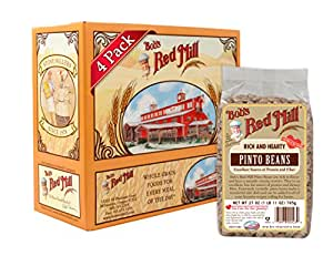 Bob's Red Mill Pinto Beans, 27-ounce (Pack of 4)