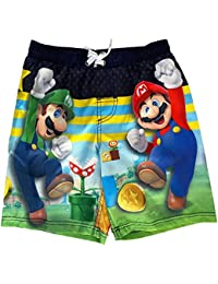 Super Brothers Little Boys Swim Trunks