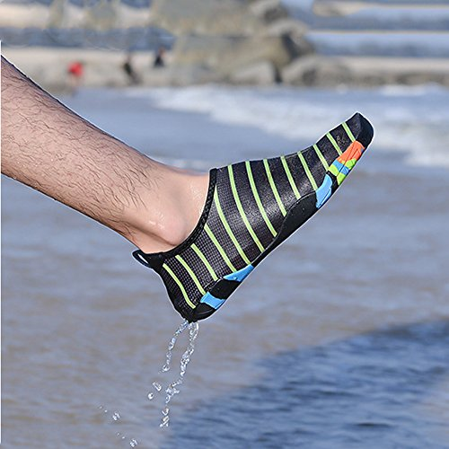 Black Quick Water Slip Sports Water white GINGYI Shoes Women's Aqua Shoes Pool Dry Socks Beach On Shoes gUZqUp