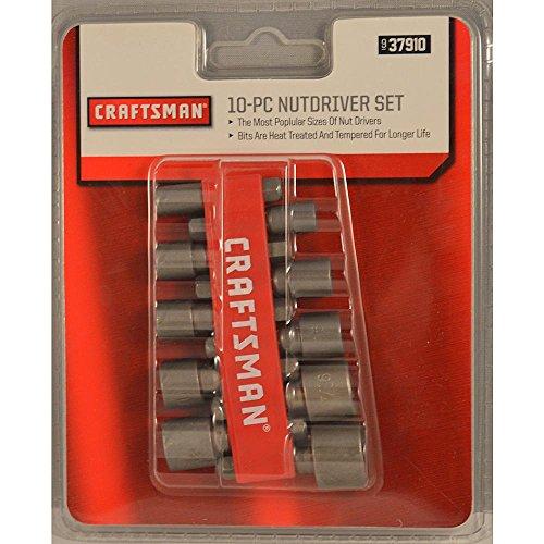 Craftsman 9-37910 Non Magnetic Nut driver Set, 10 Piece