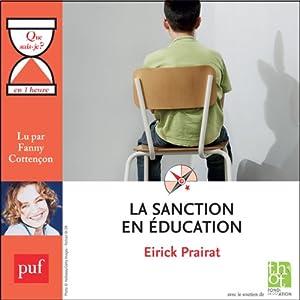 La sanction en éducation en 1 heure | Livre audio