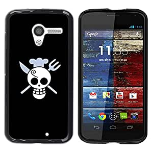 - Funny Skull Chef Death - - Monedero pared Design Premium cuero del tir???¡¯???€????€????????????¡¯&
