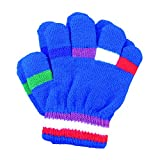 A&R Sports Toddler Handgards Gloves, Royal Stripes
