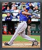 "Adrian Beltre Texas Rangers 2012 MLB Action Photo (Size: 12"" x 15"") Framed"
