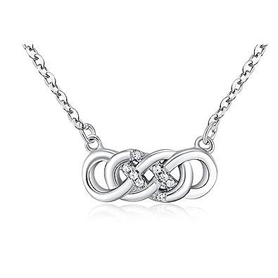 Amazon.com  Helen de Lete Eternity Girl Friend Gift Sterling Silver ... 5182758316