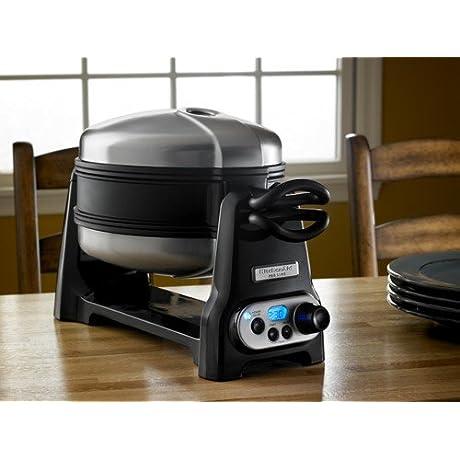 KitchenAid KPWB100OB Pro Line Waffle Baker Onyx Black