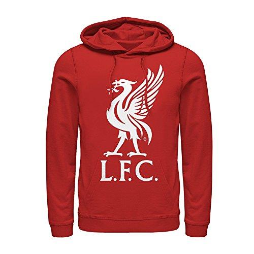 Liverpool Football Club Men's Bird Logo Red Hoodie
