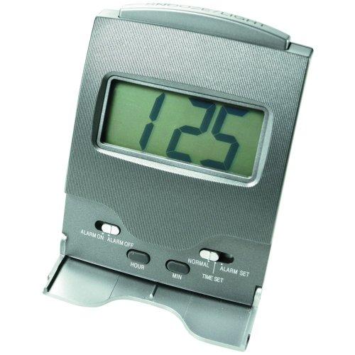 Conair LCD Alarm Clock (Forest Black Square Clock)