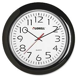 Lorell 13-3/4 Round Quartz Wall Clock