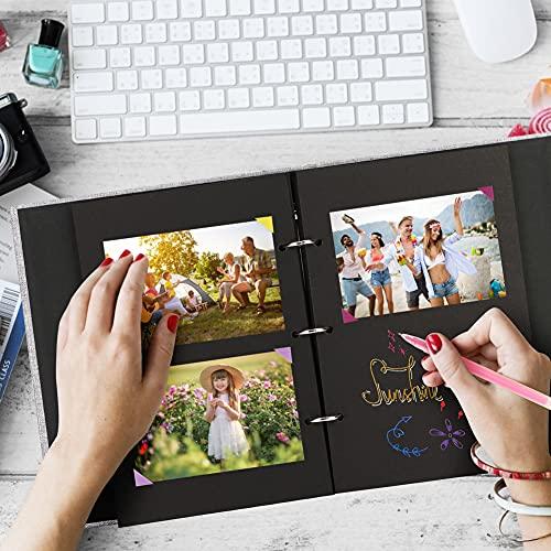 Koogel DIY Handmade Album, Scrap Book Scrapbooking Kit DIY Photo Album for Marriage Proposals Making Surprises Birthday