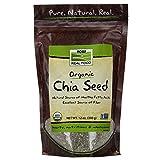 NOW Organic Black Chia Seeds, 12-Ounce