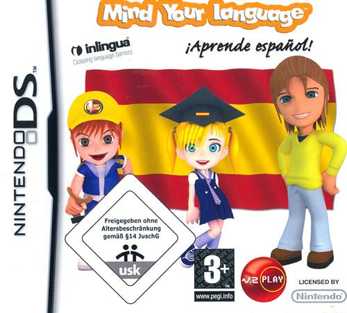 PlayV Mind Your Language Learn Spanish (Nintendo Ds)