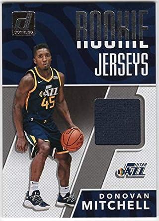 9c1201026 Donovan Mitchell 2017-18 Donruss Rookie Jerseys RC Jersey  RJ-DM1 Utah Jazz