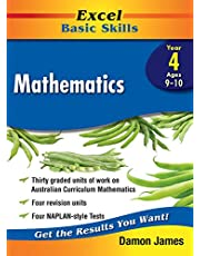 Excel Basic Skills Workbook: Mathematics Year 4