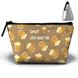 Shut Up Liver Youre Fine Womens Zipper Multifunction Toiletry Bag Portable Handy Buggy Bag