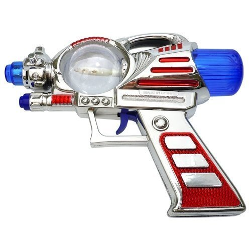 Retro Space Gun (Rhode Island Novelty Light-Up Toy Space Gun with)