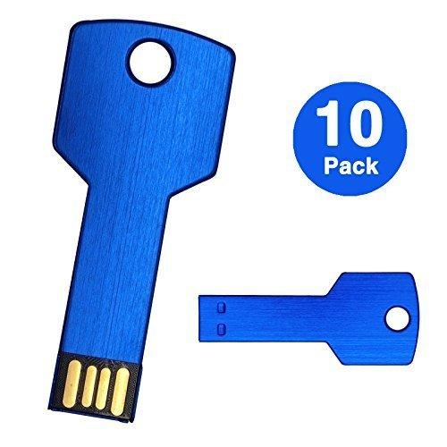 10PCS 2GB USB Flash Drive Metal Key Desi - 2 Gb Usb Key Shopping Results