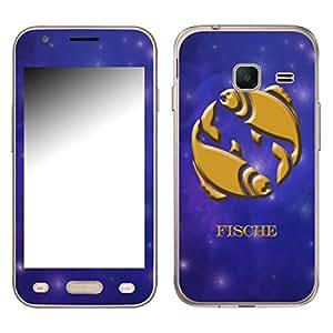 """Motivos Disagu Design Skin para Samsung Galaxy J1 mini (SM-J105H/DS): """"Fische"""""""
