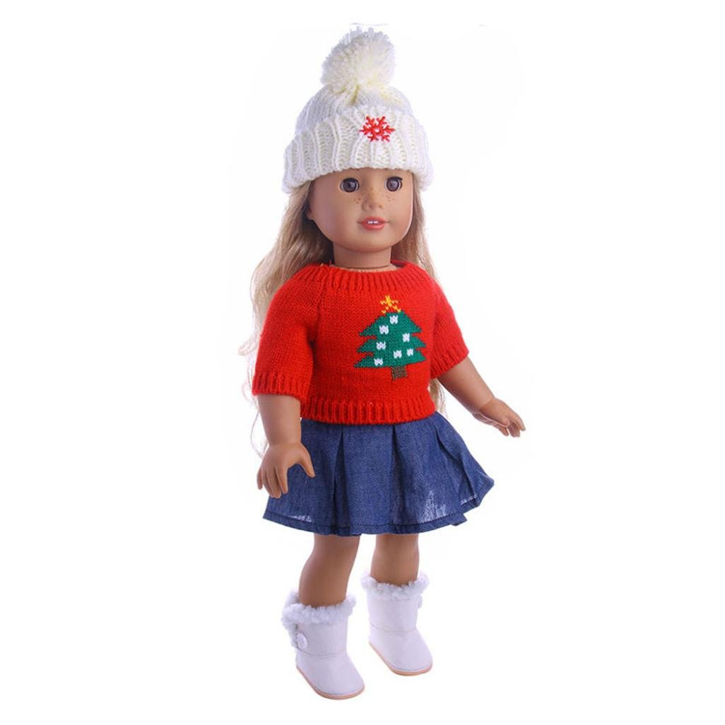 hkfv 3 en 1 lleva encantadora decoración para muñecas Niñas Funny ...