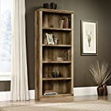 Sauder East Canyon 5 Shelf Bookcase in Craftsman Oak