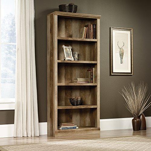 Bedroom Style Craftsman Furniture (Sauder 417223 5 Shelf Bookcase, 29.291