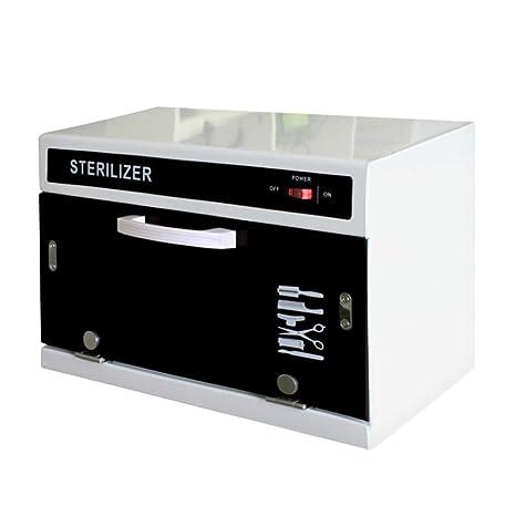 LYY 9L Calentador de Toallas UV esterilizador desinfección Calentador Caliente gabinete con 2 interruptores Salon SPA