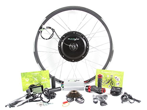 Review EBIKELING 48v 1200w 700C REAR direct drive Hub motor ebike Electric Bicycle Conversion Kit - ...